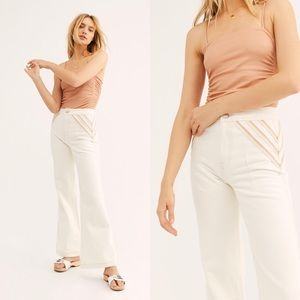 We the Free People Over the Rainbow Jeans flare